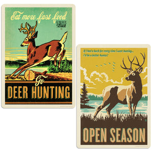 ADG Deer 2 Decal Set Wholesale - Lake & Lodge