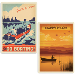 ADG Boating 2 Decal Set Wholesale - Lake & Lodge