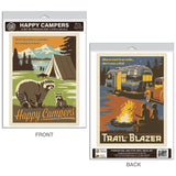 Happy Campers Decal Set of 2
