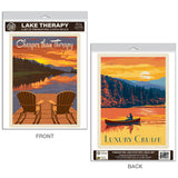 Lake Therapy Decal Set of 2