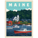 USA_Maine_Booth_Harbor Wholesale Decal
