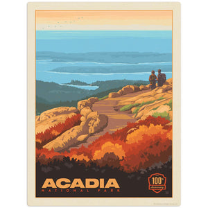 NP_Acadia_100th_Anniversary_VERT Wholesale Decal