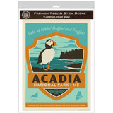 Acadia National Park Maine Emblem Decal