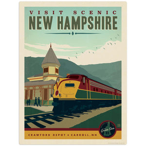 USA_New_Hampshire Wholesale Decal