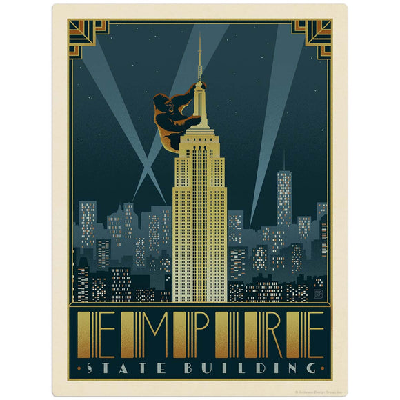 USA_New_York_Empire_State_Building Wholesale Decal