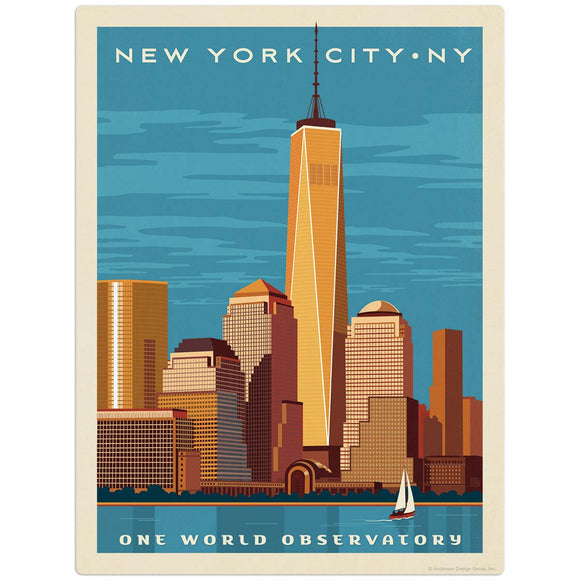USA_New_York_One_World_Observatory Wholesale Decal