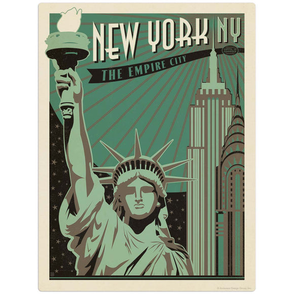 USA_New_York_Print_Shop Wholesale Decal