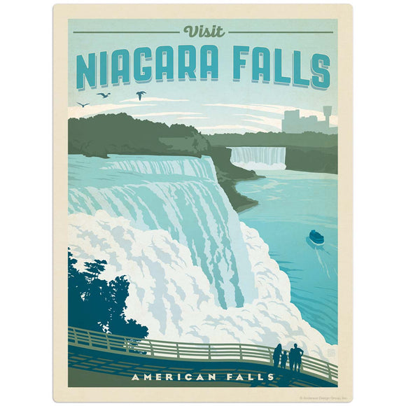 USA_Niagara_Falls Wholesale Decal