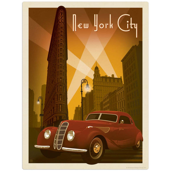 USA_New_York_Flat_Iron_Building Wholesale Decal