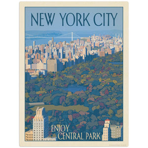 USA_New_York_Enjoy_Central_Park Wholesale Decal