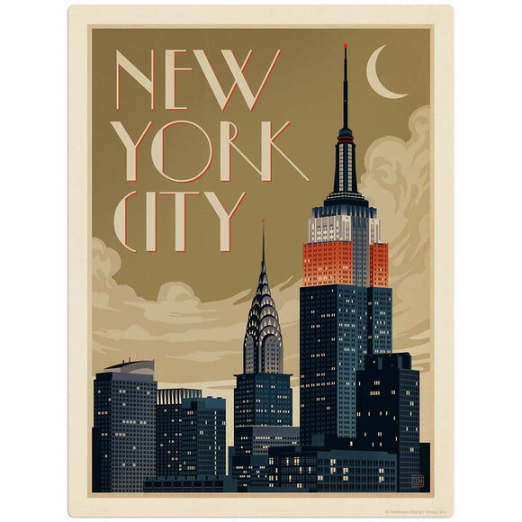 USA_NYC_Deco_Skyline Wholesale Decal