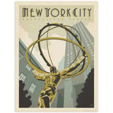 USA_NYC_Rockefeller_Center Wholesale Decal