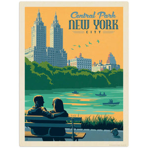 USA_NYC_Central_Park_Bench Wholesale Decal