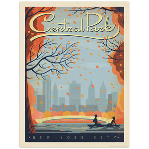 USA_New_York_Central_Park Wholesale Decal