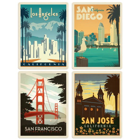 ADG CA1 4 Decal Set Wholesale - US Travel