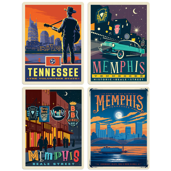 ADG TN 4 Decal Set Wholesale - US Travel