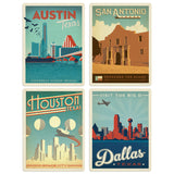 ADG TX 4 Decal Set Wholesale - US Travel