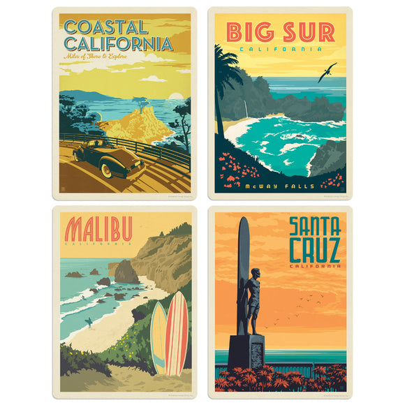 ADG CA2 4 Decal Set Wholesale - US Travel