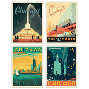 ADG Chicago 4 Decal Set Wholesale - US Travel