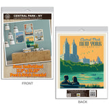 New York City Central Park Decal Set of 4