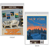 New York City Brooklyn Bridge Decal Set of 4