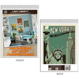 Statue of Liberty New York City Decal Set of 4