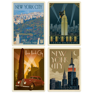 ADG NY3 4 Decal Set Wholesale - US Travel