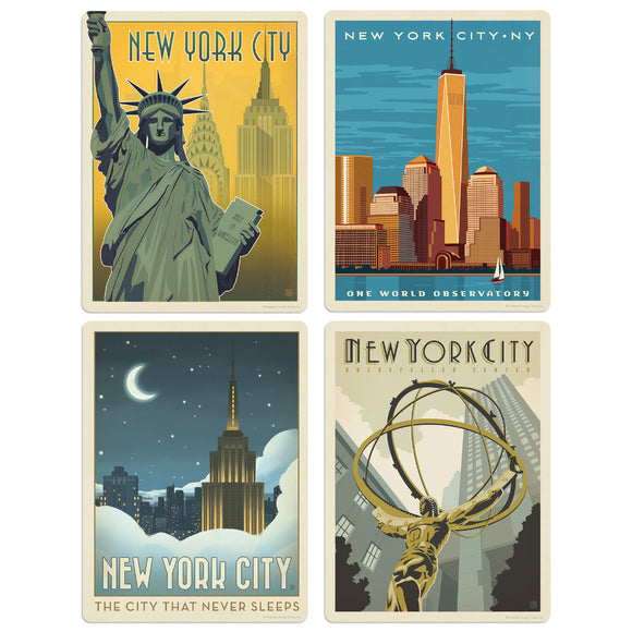 ADG NY4 4 Decal Set Wholesale - US Travel