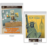 New York City Rockefeller Center Decal Set of 4