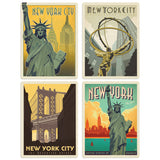 ADG NY5 4 Decal Set Wholesale - US Travel