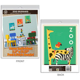 Zoo Buddies Wild Animal Decal Set of 3