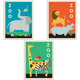 ADG 3 Decal Set Wholesale - Zoo Buddies