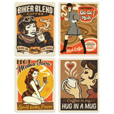 ADG Coffee1 4 Decal Set Wholesale - Coffee