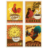 ADG Coffee2 4 Decal Set Wholesale - Coffee