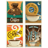 ADG Coffee3 4 Decal Set Wholesale - Coffee
