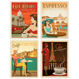ADG Coffee4 4 Decal Set Wholesale - Coffee