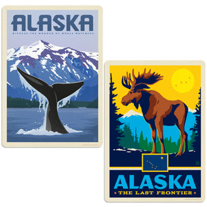 ADG 2 Decal Set Wholesale - US Cities Alaska 2