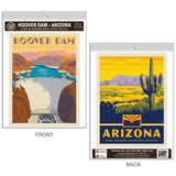 Hoover Dam Arizona Decal Set of 2