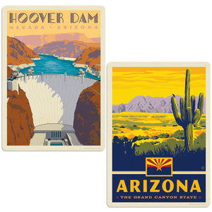 ADG 2 Decal Set Wholesale - US Cities Arizona 1