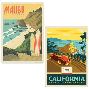 ADG 2 Decal Set Wholesale - US Cities California 2