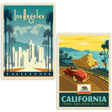 ADG 2 Decal Set Wholesale - US Cities California 3