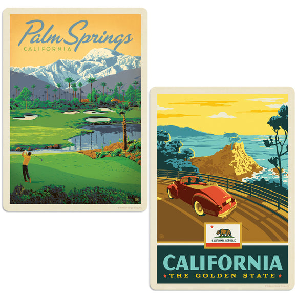 ADG 2 Decal Set Wholesale - US Cities California 5