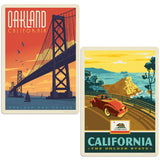 ADG 2 Decal Set Wholesale - US Cities California 6