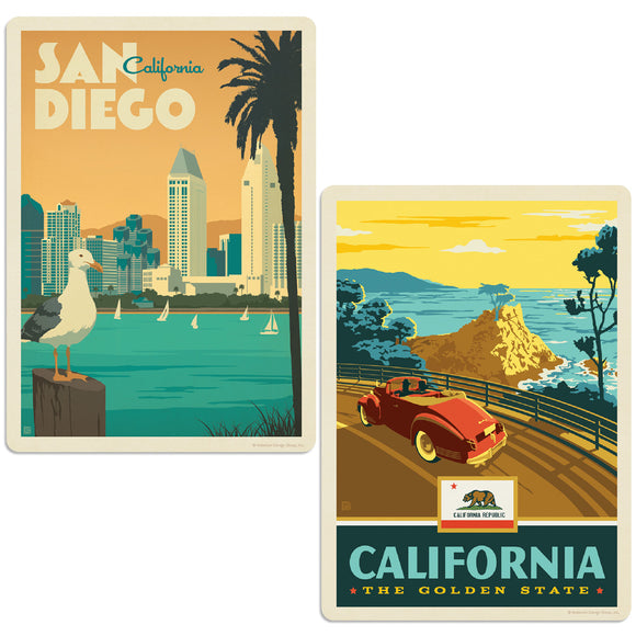 ADG 2 Decal Set Wholesale - US Cities California 8