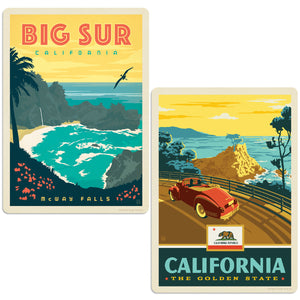ADG 2 Decal Set Wholesale - US Cities California 11