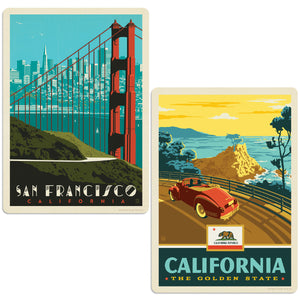 ADG 2 Decal Set Wholesale - US Cities California 13