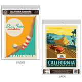 California Dive Into Sunshine Decal Set of 2