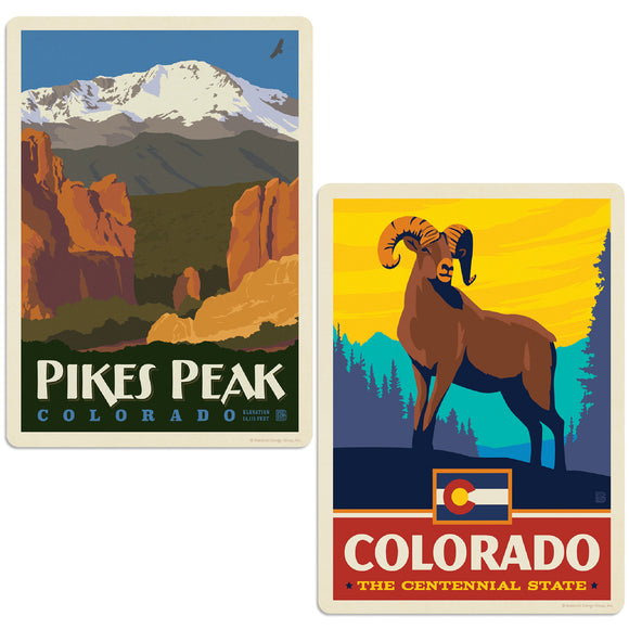 ADG 2 Decal Set Wholesale - US Cities Colorado 4