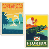 ADG 2 Decal Set Wholesale - US Cities Florida 3