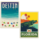 ADG 2 Decal Set Wholesale - US Cities Florida 4